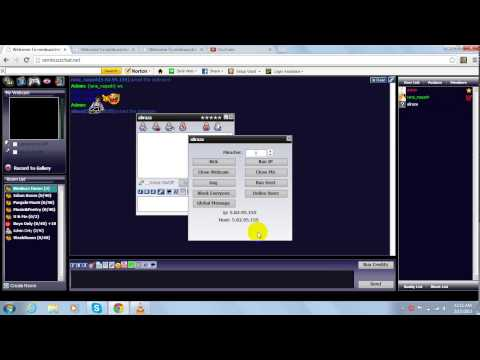 How To Use Nimbuzz Audio & Video Family Chat Room