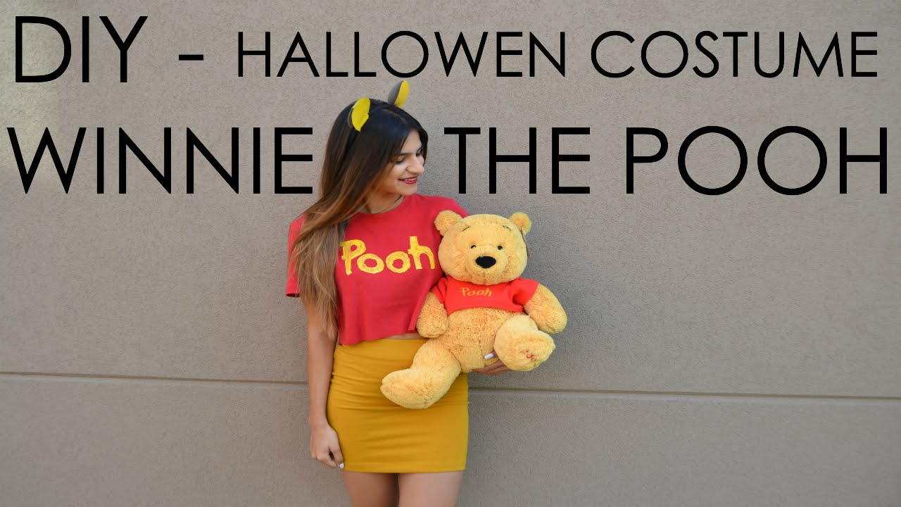 cceb244c968a DIY - Halloween Costume - Winnie the Pooh - YouTube