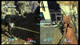 Splinter Cell Blacklist: Grim Mission 2 Border Crossing - Split Screen Gameplay
