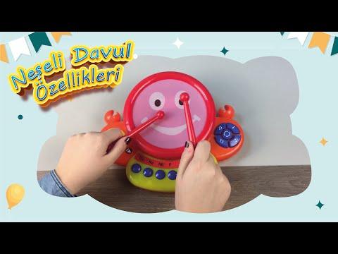 Educational Toy for Kids🥁- Joyful Drums (UJ TOYS)