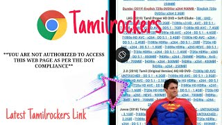 Tamilrockers new link 2019 today | Download tamil movies from tamilrockers new link
