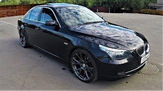 BMW E60 525 первое впечатление: Бэтмобиль :)
