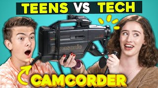 Download Teens Try Using a 90s Camcorder | Technical Difficulties (New Show) Mp3 and Videos