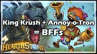 King Krush + Annoy-o-Tron = BFFs - Boomsday / Constructed / Hearthstone