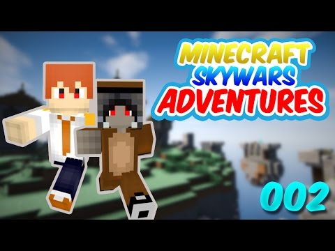 Minecraft Skywars Adventures #2: REPORT HACKER!! (w/Zeroz & Kutcha)