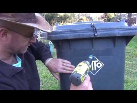 How to make a Worm Farm from a Wheelie Bin