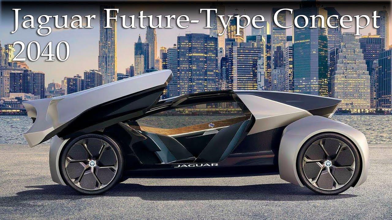 2040 Jaguar Future Type Concept Fully Autonomous Car