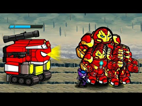 HERO WARS: Super Stickman Defense|Wave Mode And New Stages|GamePlay Walkthrough 2018 FHD (Part 2)