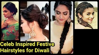 Perfect Back PUFF+Scalp Brave Hairstyles for Diwali //Celeb Inspired Festive Hairstyles