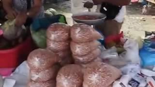 market day bohol philippines knives alcohol stoves