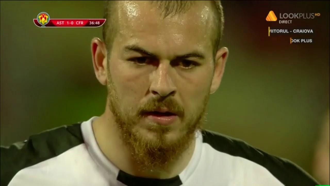 Astra - CFR: 2-0, gol Alibec din penalty / Semifinala Cupa Romaniei 2018-2019