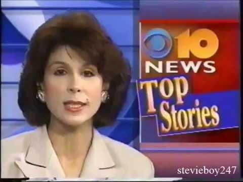 WCAU Philadelphia - 5pm News Opens and Weather Reports (June 14 & 15, 1994)