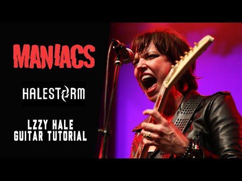 Halestorm frontwoman Lzzy Hale: Guitar tutorial interview