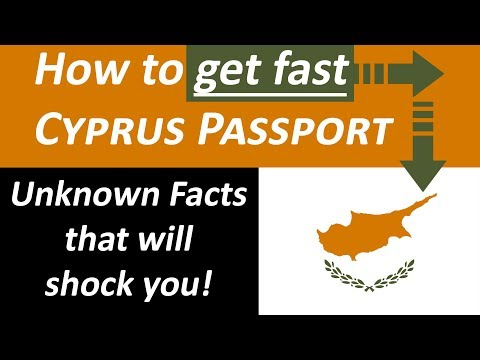 How to get fast Cyprus Passport with Citizenship by Investme
