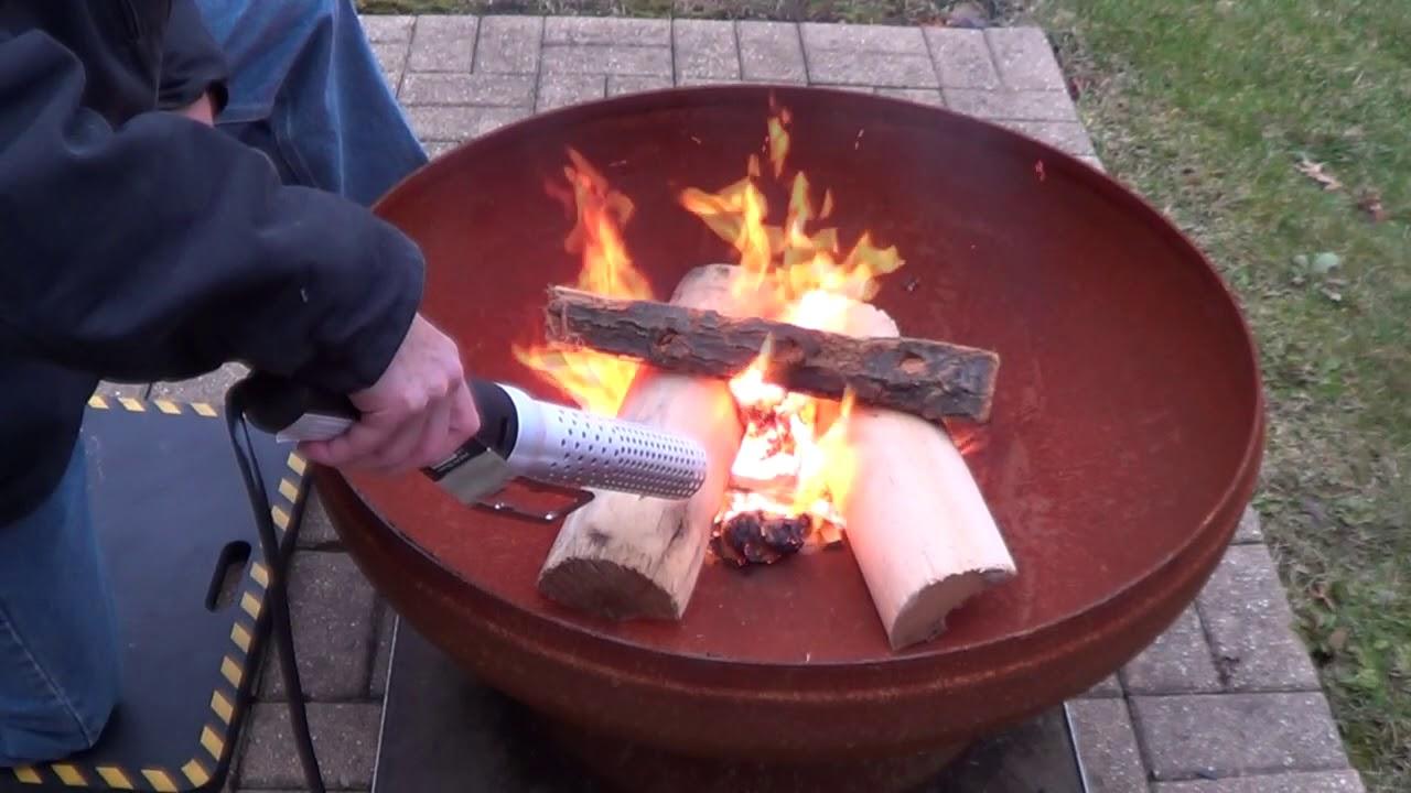 fireplace starter fire pit starter youtube