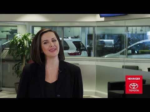 Heninger Toyota Delivery Orientation - Calgary, Alberta
