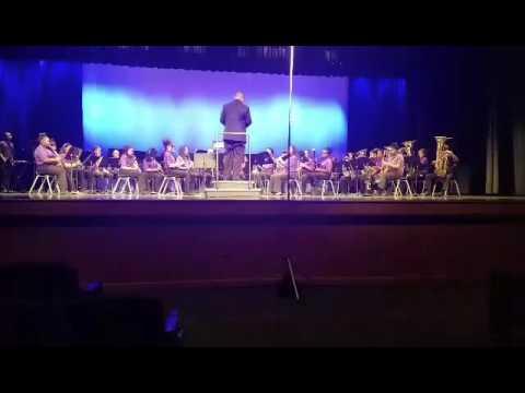 Miller Grove Middle School Symphonic Band LGPE 2017 Old Irish Tune