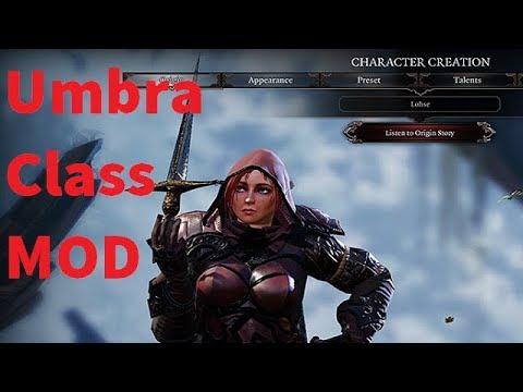 Umbra Class MOD - Divinity Original Sin 2