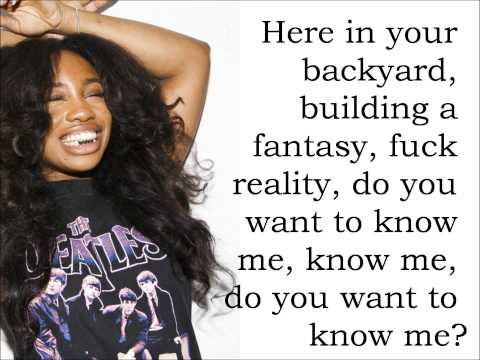 Child's Play - SZA Feat. Chance The Rapper (Lyrics)
