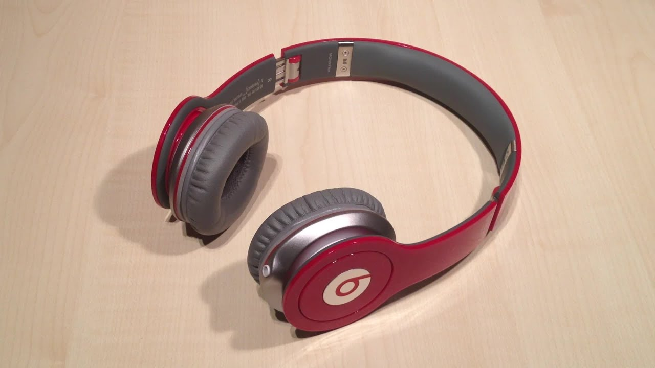 review monster beats by dr dre solo hd red special