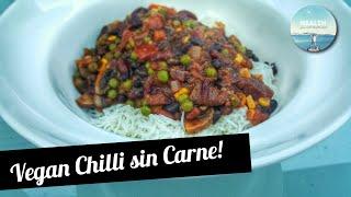 Healthy  Vegan Chilli sin Carne Recipe