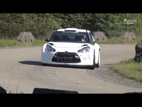 Tests Day Neuville Gilsoul Citroen Ds3 Wrc Deutschland Hd Rallye