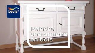 Comment peindre une armoire en bois