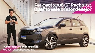 Aceleramos o PEUGEOT 3008 GT PACK 2021: desejável sim, mas a qual preço? Pontos fortes e fracos