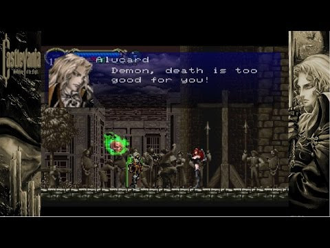 Up All Night to Get Lucky, Let's Stream SotN - 09