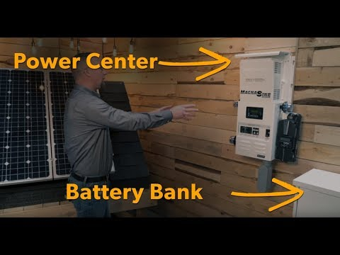 The Homestead 4 73 kW 15-Panel Mission Solar Off-Grid Solar System