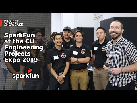 SparkFun at the CU Engineering Projects Expo 2019