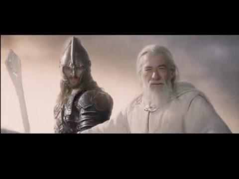 Yüzüklerin Efendisi Kralın Dönüşü - Kara Kapı Sahnesi - EXTENDED(Uzatılmış) 1080p