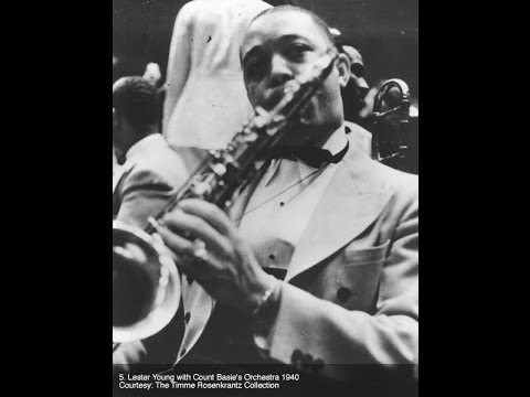 Benny, Pres, Little Jazz and Teddy jam in 1938
