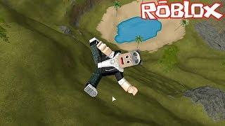 We Fell From Thousands of Meters High! - Roblox Broken Bones IV with Panda