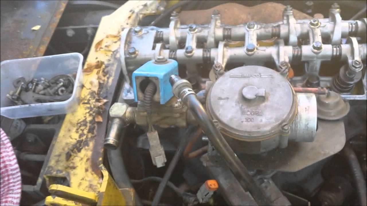 Clark Forklift Wiring Diagram Trailer Light Uk Equipment Inspection/repair, Hyster 2.5 Ton Forklift. - Youtube