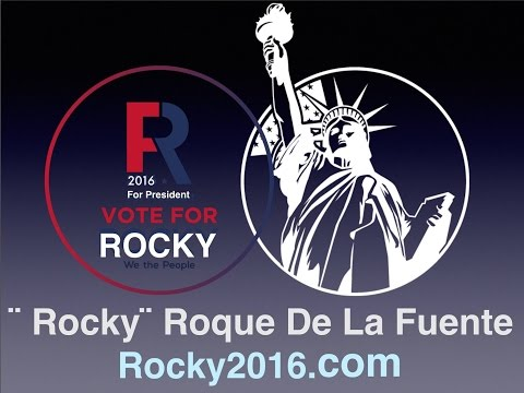 "ROQUE ""Rocky"" DE LA FUENTE in NEW YORK"