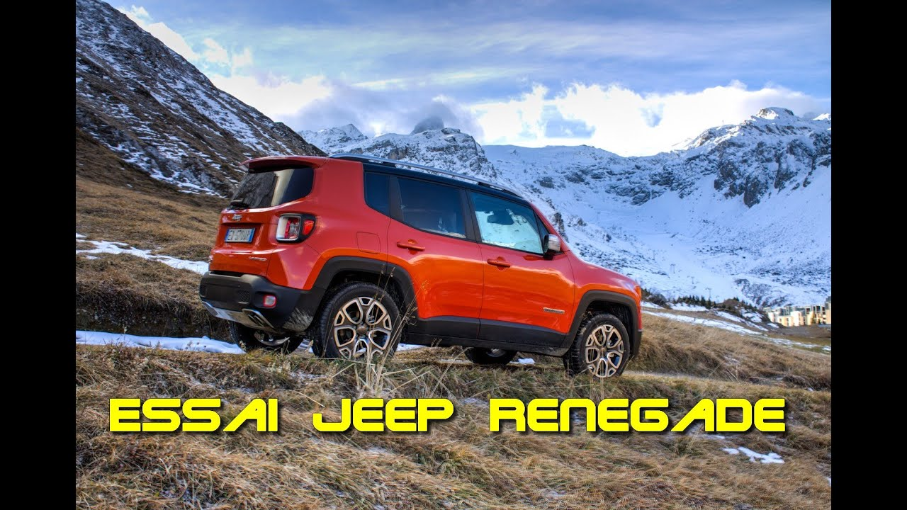 essai jeep renegade 2 0 multijet 140 limited 4x4 bva9 youtube. Black Bedroom Furniture Sets. Home Design Ideas