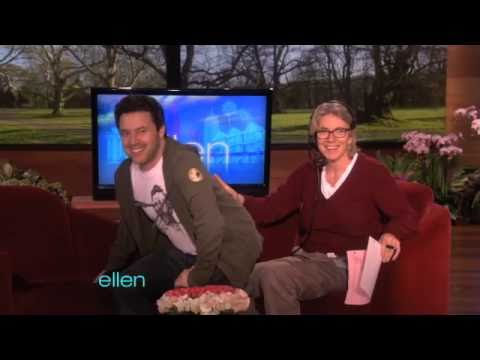 Ellen's Executive Producers Practice Ventriloquism
