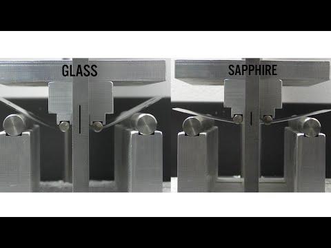 Sapphire vs Gorilla Glass- Bending and Impact