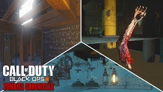 10 OUTSIDE THE MAP SECRETS IN ZOMBIES CHRONICLES! (Black Ops 3 Zombies DLC 5)