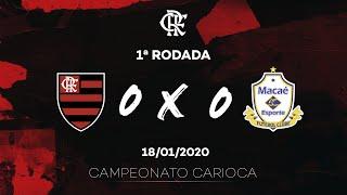 Flamengo x Macaé Ao Vivo - Maracanã