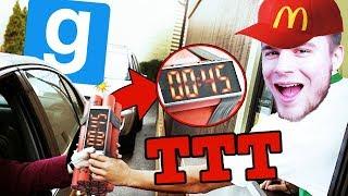 ZOSTAŁO WAM 45 SEKUND ŻYCIA W MCDONALD! | Garry's mod (With: EKIPA) #801 - TTT [#155] #Bladii