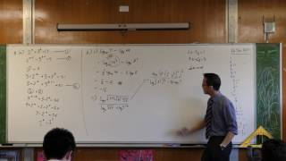 Tricky Log Questions (2 of 4: Applying the power law)