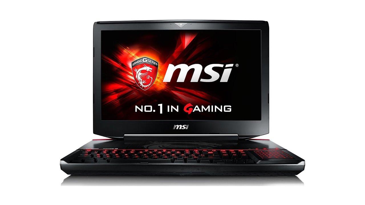 Видео обзор игрового ноутбука MSI GT60 - YouTube