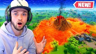 The *NEW* Lava Lake in Fortnite!