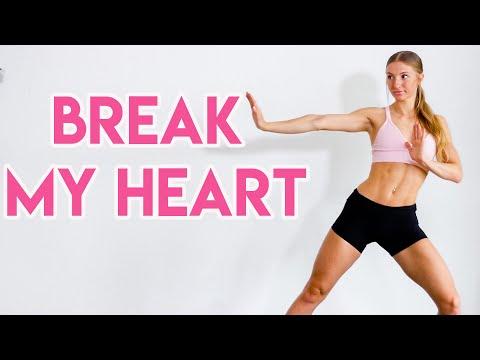Dua Lipa – Break My Heart FULL BODY WORKOUT ROUTINE