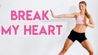 Download Lagu Dua Lipa - Break My Heart FULL BODY WORKOUT ROUTINE MP3