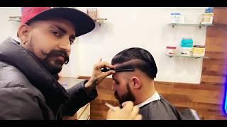 Hair cut by (Sukh Trend hairport )