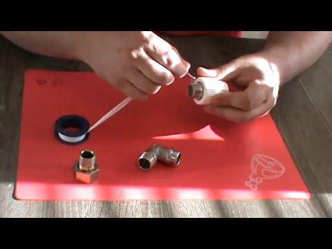 Как наматывать фум ленту на резьбу