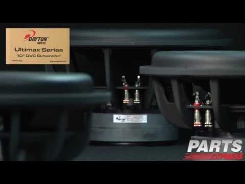 Dvc Wiring   Dayton Audio Um18 22 18 Ultimax Dvc Subwoofer 2 Ohms Per Coil
